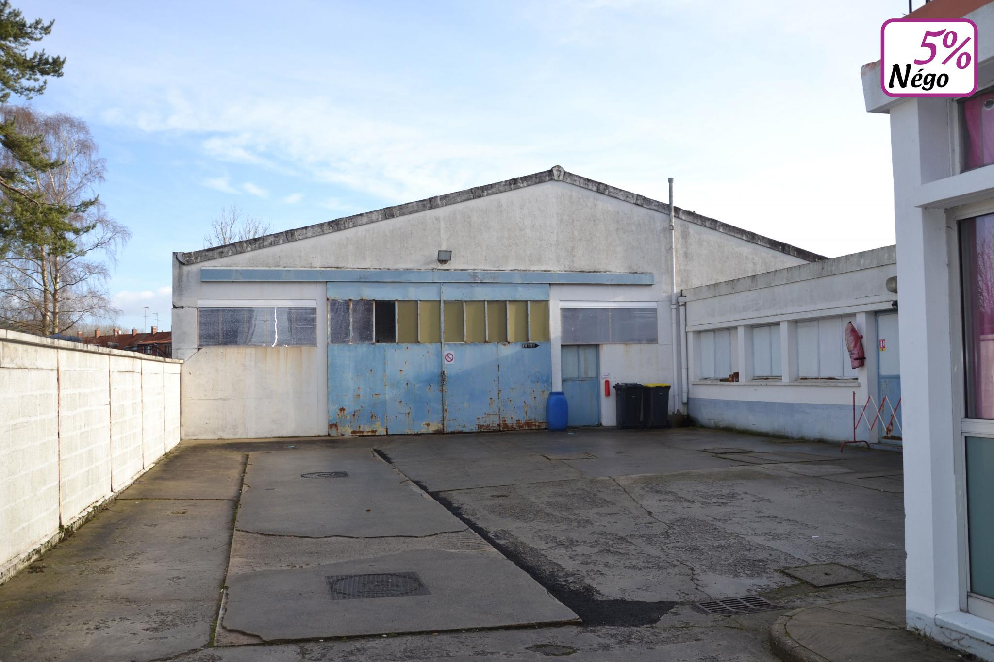ACHAT / VENTE HANGAR 560 m2 SUR TERRAIN DE 1266 m2